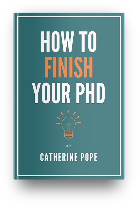 Cover of How to Finish Your PhD